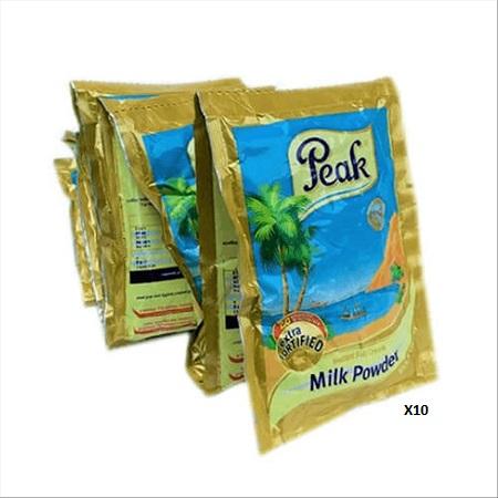 oja.ng peak milk sachet