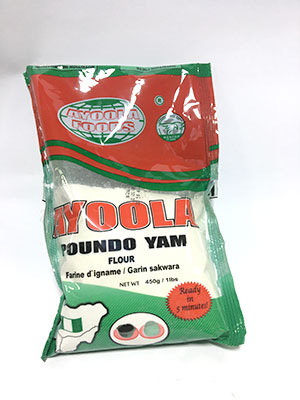 Ayoola Poundo Yam450g